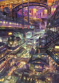 Home Discover Cities A life in Cyberpunk Ville Cyberpunk Cyberpunk City Futuristic City Fantasy City Fantasy Places Fantasy World Fantasy Art Landscapes Fantasy Landscape Landscape Art Cyberpunk City, Ville Cyberpunk, Cyberpunk Kunst, Futuristic City, Fantasy City, Fantasy Places, Fantasy World, Fantasy Art Landscapes, Fantasy Landscape