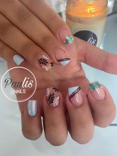 Precious Nails, Gel Nails, Acrylic Nails, Nail Pics, Nails Design With Rhinestones, Stamping, Nail Designs, Nail Art, Hair