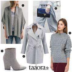 Mode couleur gris automne-hiver 2015-2016