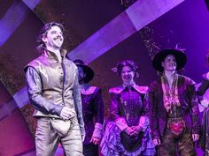 Something Rotten! officially opened on Broadway on April 22, 2015, and after the show, stars Brian d'Arcy James, John Cariani, Christian Borle and the ...