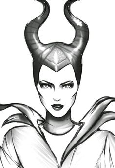 Maleficent Disney Coloring Pages - Coloring Pages