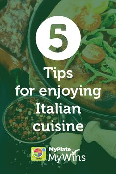 Savor your favorite Italian meals in a healthier way! #MyPlateMyWins