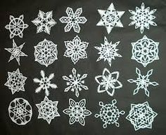 Image result for snowflake cutting scissors