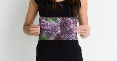 """Lilac flowers "" Studio Pouches by VanGalt | Redbubble"
