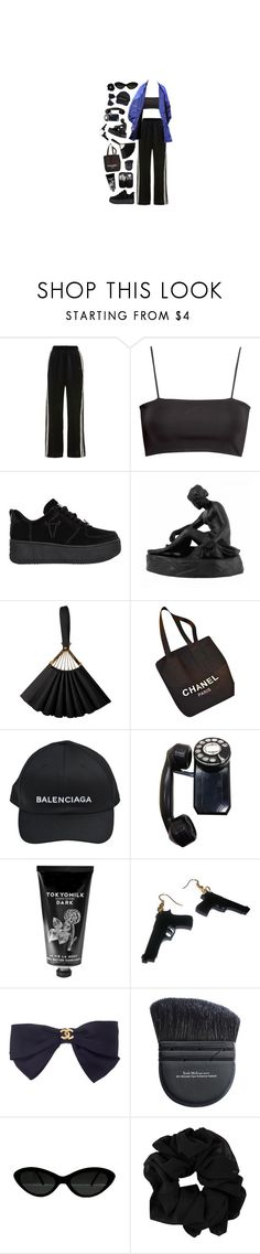 """""""strangest of ways"""" by queenofvogue ❤ liked on Polyvore featuring Morgan Lane, H&M, Windsor Smith, Wedgwood, Karl Lagerfeld, Chanel, Balenciaga, American Eagle Outfitters, TokyoMilk and Trish McEvoy"""