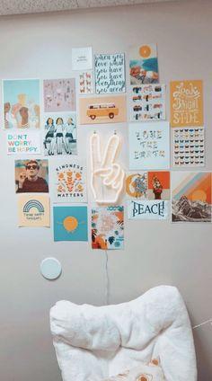 How to be a vsco/basic white girl - Vsco room decor Page 2 Read Vsco room decor from the story How to be a vsco/basic white girl by SofiaStuviox with reads. - How to be a vsco/basic white girl - Vsco room decor - Page 2 - Wattpad Cute Room Ideas, Cute Room Decor, Teen Wall Decor, Tumblr Wall Decor, Yellow Room Decor, Teenage Room Decor, Room Ideas Bedroom, Bedroom Decor, Bedroom Inspo