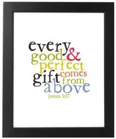 king james bible quotes, bible quotes for nursery, faith, perfect gift, jame 117