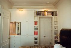 19 Super ideas bedroom storage for small rooms clothing built ins Bedroom Wardrobe, Bedroom Doors, Bedroom Closets, Pax Wardrobe, Bedroom Furniture, Furniture Ideas, Wardrobe Storage, Built In Wardrobe, Small Space Design