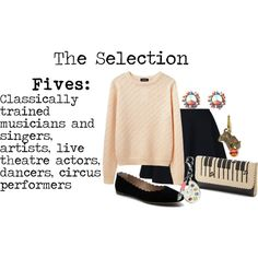 Fives - The Selection this is me I'm a dancer, I love to sing, and I play the flute. I'm a performer. I'm a award winning artist.