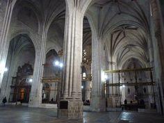 Valladolid - Church of San Benito, interior.