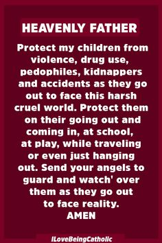 Protect Your Children From Evil with this Powerful Prayer