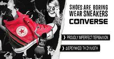 ΝΕΑ ΠΡΟΙΟΝΤΑ Παπούτσια Ένδυση Τσάντες ΠΑΠΟΥΤΣΙΑ Σανδάλια / Πέδιλα Sneakers Μποτάκια / Low boots Μποτάκια Γόβες Μπότες ΕΝΔΥΣΗ T-shirts & Μπλούζες Φορέματα Πουλόβερ & Γιλέκα Πουκάμισα & Τουνίκ Jeans Σακάκια ΤΣΑΝΤΕΣ Τσάντες Τσάντες ώμου Shopping bag ΔΗΜΙΟΥΡΓΙΕΣ Δυναμωτική ένεση Timber για πάντα! Sneakers στην πόλη Μόδα που κόβει την ανάσα! Chic & Elegant Μυτερές γόβες Converse Chuck Taylor High, Converse High, High Top Sneakers, Chuck Taylors High Top, High Tops, Collection, Shoes, Gaming, Zapatos