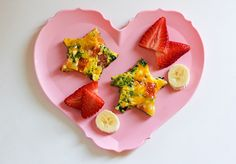 Veggie Frittata - and other fun ideas for the little ladies of the house.