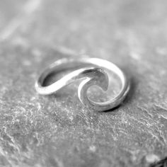 Spindrift Wave Ring Available at http://surfgirlbeachboutique.com/collections/rings