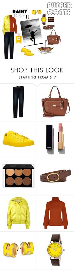 """Rainy mood"" by geni1981 ❤ liked on Polyvore featuring J Brand, Chaps, adidas, Chanel, FOSSIL, Ienki Ienki, Chloé and Crayo"