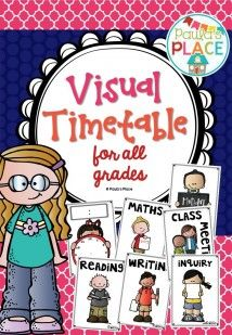 This is great for setting up your daily program for students to see