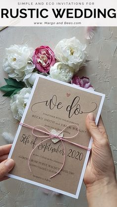 Cheap Pink Wedding invitations Rustic Stationery Eco Suite with Wooden Heart a. - Cheap Pink Wedding invitations Rustic Stationery Eco Suite with Wooden Heart and Twine – weddin - Handmade Wedding Invitations, Diy Invitations, Elegant Wedding Invitations, Wedding Invitation Cards, Wedding Cards, Wedding Favors, Wedding Decorations, Wedding Venues, Diy Rsvp Cards