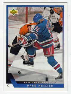 Mark Messier # 51 - 1993-94 Upper Deck Hockey Hockey Cards, Baseball Cards, Mark Messier, Upper Deck, Nhl, Mint, Sports, Hs Sports, Sport