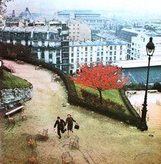 Paris.. Romance Magazine (Dutch) September 1965. Photo Kees Scherer