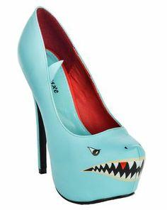 SHARK PUMPS BLUE