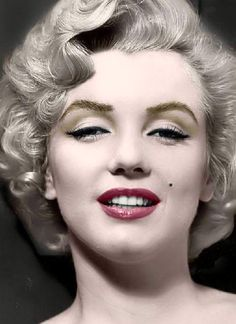 Marilyn Monroe She wasn't just a pretty face but also intelligent on a if not genius level, then near genius level. I would have loved to have picked her brain on various subjects and gotten to know the real human being behind the image. Obviously she was gorgeous, but that brain of hers intrigues and fascinates me more than her body. Seriously!