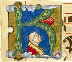 Francesco da Castello Iniziali con profili di vescovi, c. 1475