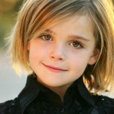 Creative Short Hairstyles For Little Girls in Adorable Curly, Wavy, Braided, Bangs, Ponytails