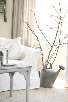 pretty white vintage room