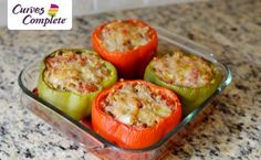 These Italian Style Stuffed Peppers are a great, healthy meal. Straight from the Curves Complete program, you can eat these guilt free! What is your favorite meal from the Curves Complete meal plan?