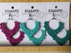 Näitä saa nyt tilata Kasaamon verkkokaupasta, valitset vain mieluisan värin! Aurora, Crochet Earrings, Shopping, Jewelry, Jewellery Making, Jewels, Jewlery, Northern Lights, Jewerly