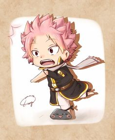 Fairy Tail Natsu Chibi tripping over a rock Natsu Fairy Tail, Fairy Tail Love, Fairy Tail Ships, Fairy Tail Anime, Fairy Tail Fotos, Fairy Tail Images, Fairy Tail Pictures, Chibi Natsu, Anime Chibi