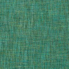 A modern tweed upholstery fabric in a woven design of turquoise and emerald…