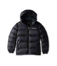 Marmot Kids Guides Down Hoody (Little Kids/Big Kids) (Black) Boy's Coat