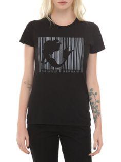 Disney The Little Mermaid Barcode Girls T-Shirt ($16.88-22.50) - Hot Topic ONLINE