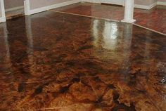Stained Concrete Gallery Glossy Floors Page 2 Cost Cement Stain