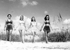 Grab your friends…it's a beach day! (1946)   Florida Memory