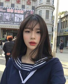 9 Korean Makeup Looks – My hair and beauty Korean Beauty, Asian Beauty, Korean Girl, Asian Girl, Korean Ulzzang, Style Ulzzang, Korean Style, Asian Men, Ulzzang Makeup