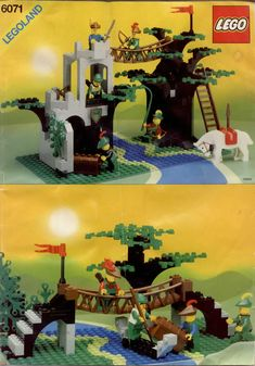 Castle - Forestmen's Crossing [Lego 6071]
