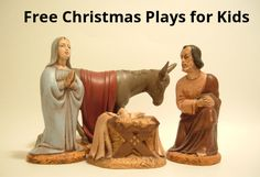 Printable Christmas Plays For Church (100% Free) Kids Pageant & Play Scripts