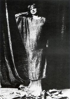 https://flic.kr/p/3f7Yhq | Fortuny067aboveright.jpg batwing tunic of silk gauze