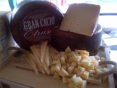 Gran Cacio Etrusco, a semihard sheep's milk cheese from Lazio, Italy.