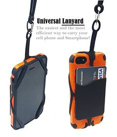 Universal Smartphone Lanyard Strap is the perfect solution for anyone who needs to keep his or her ...