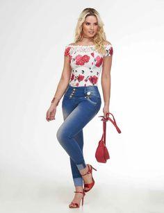 Fashion Moda, All Fashion, Latest Fashion Trends, Womens Fashion, Jeans Refashion, Moda Online, Girl Model, Jeans Style, Kids Boys