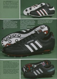 huge discount 96bbe 6bc85 Adidas 1987 Catalogue Page. Mark Kelby · Retro trainers boots