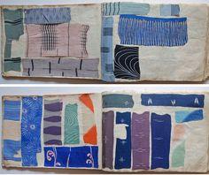 archivenewyork:1930s Japanese YUZEN Dyeing Kimono Sample Book