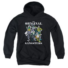 More DC Characters: Original Gangsters Youth Hoodie