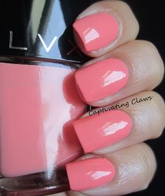Captivating Claws: LVX Summer 2013- Swatch + Review- This is Deco