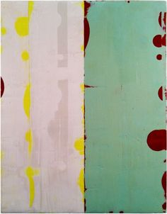 "Valentin 2011Encaustic & alkyd on wood panel 10.125"" x 8""    © Celia Johnson"