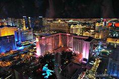 Night View of Las Vegas Strip
