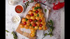 Sonkás Mozzarellás Karácsonyfa Bucik - YouTube Mozzarella, Xmas, Vegetables, Cooking, Youtube, Food, Kitchen, Christmas, Essen